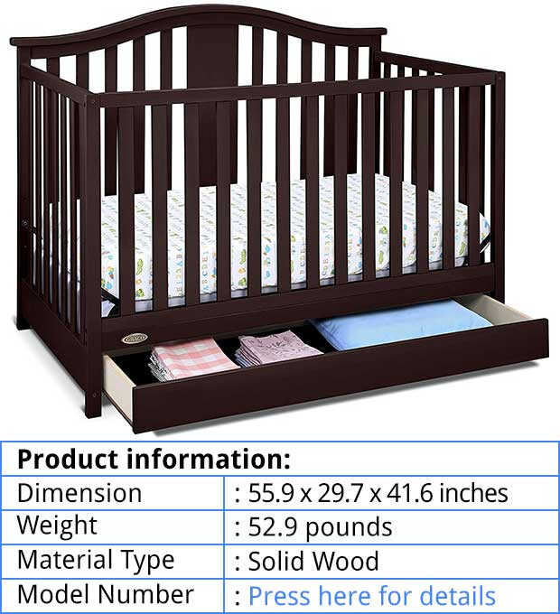 Best And Safest Baby Crib With Changing Table And Dresser