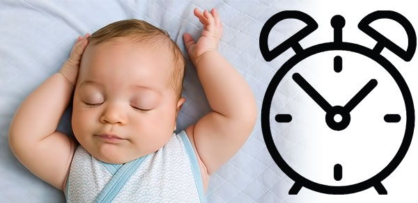Bedtime routine for baby