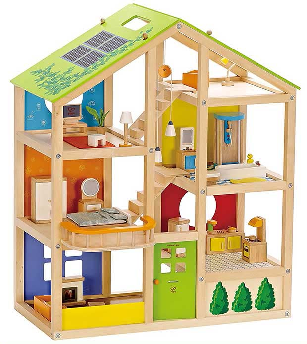 Hape All Seasons Dollhouse