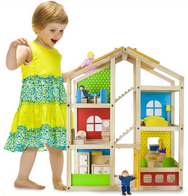 Imagination Generation Tall Townhome Dollhouse